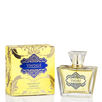 Amazoncom Vintage For Women Inspired By Versace Yellow Diamond