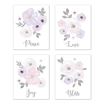 Amazon.com: Sweet Jojo Designs - Juego de 4 diseños de ...