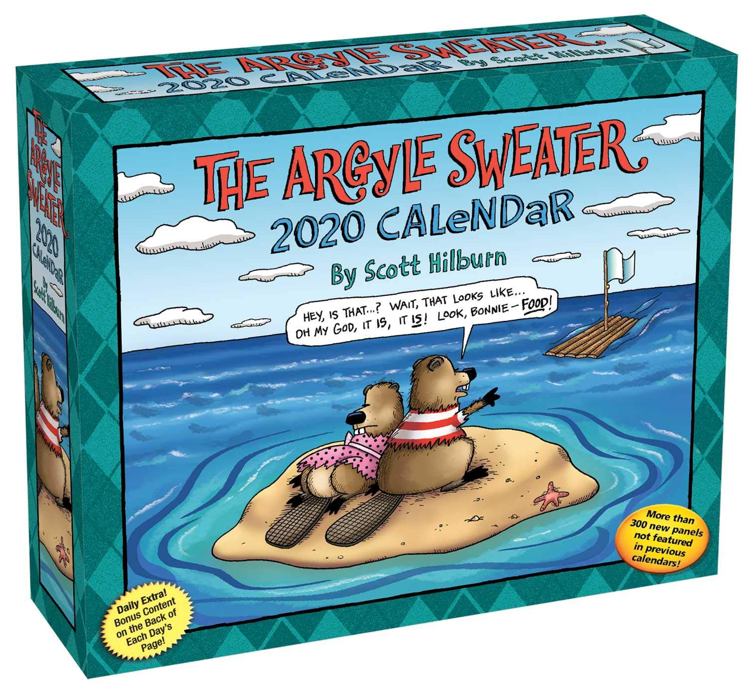 Free Comic Book Day 2020 List.The Argyle Sweater 2020 Day To Day Calendar Scott Hilburn