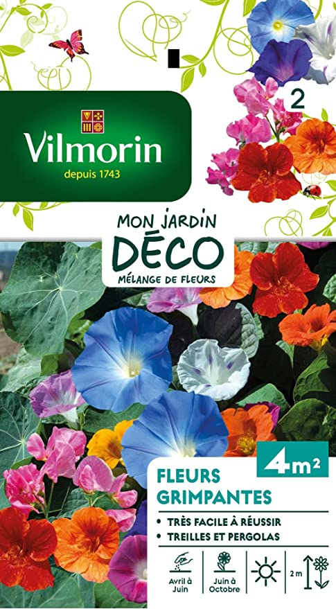 Vilmorin 5860642 Pack de Graines Fleur Grimpante