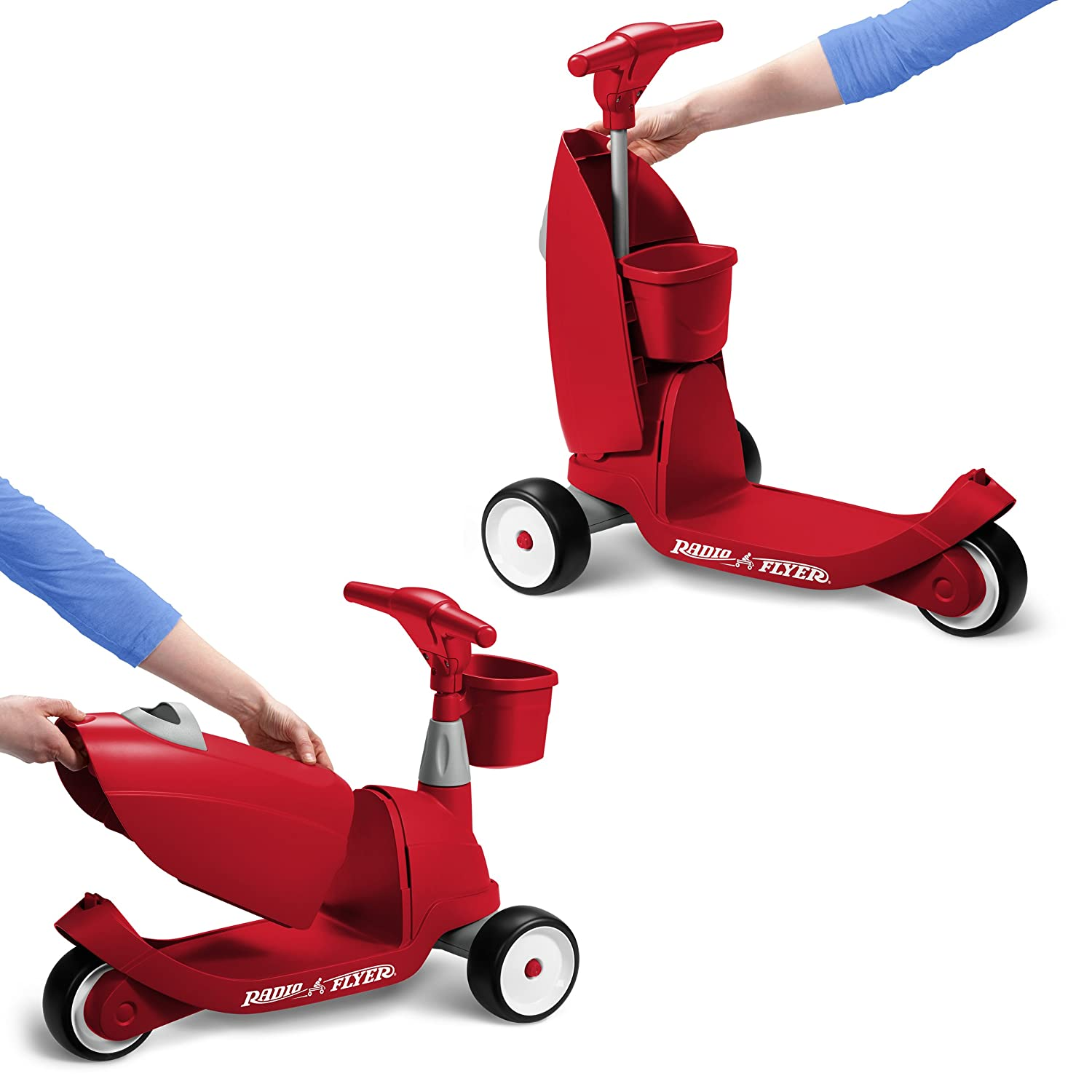 Amazon Radio Flyer Ride 2 Glide Ride Toys & Games
