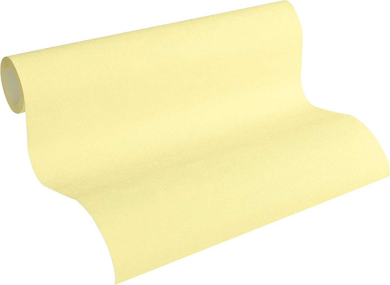 53/M fabriqu/é en Allemagne 346285/3462 05/M x 0 85 Cr/éation Papier Peint Intiss/é Pop Colors Papier peint unitapete 10 A.S jaune