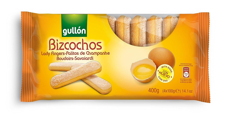 Gullón Bizcocho Bizcocho Desayuno, Merienda y Postres - 400 gr: Amazon.es: Alimentación y bebidas