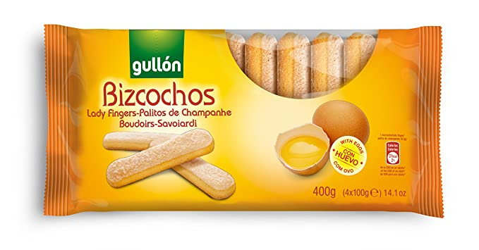 Gullón Bizcocho Bizcocho Desayuno, Merienda y Postres - 400 gr ...