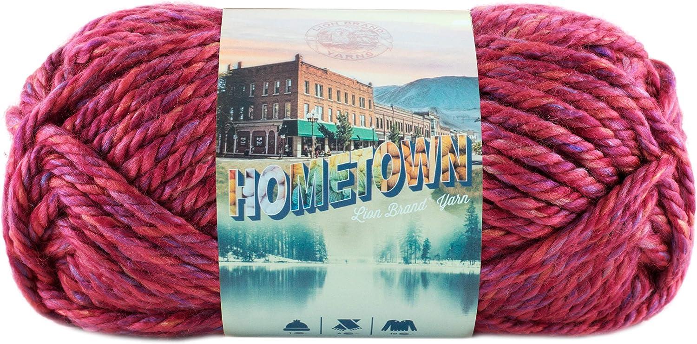 Lion Brand 135-208 Hometown USA Yarn - Phoenix Azalea