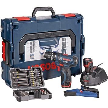 Bosch Akkubohrschrauber Set Gsr 10 8 2 Li Professional Blau L Boxx