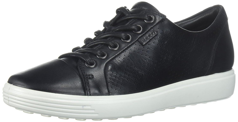 ECCO Women's Soft 7 Tie Fashion Sneaker B0713SQ9XW 39 EU/8-8.5 M US|Dark Black