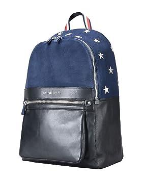 Tommy Hilfiger - Bolso mochila para mujer Azul BLU NAVY MIX 45 x 38 x 9 cm: Amazon.es: Equipaje