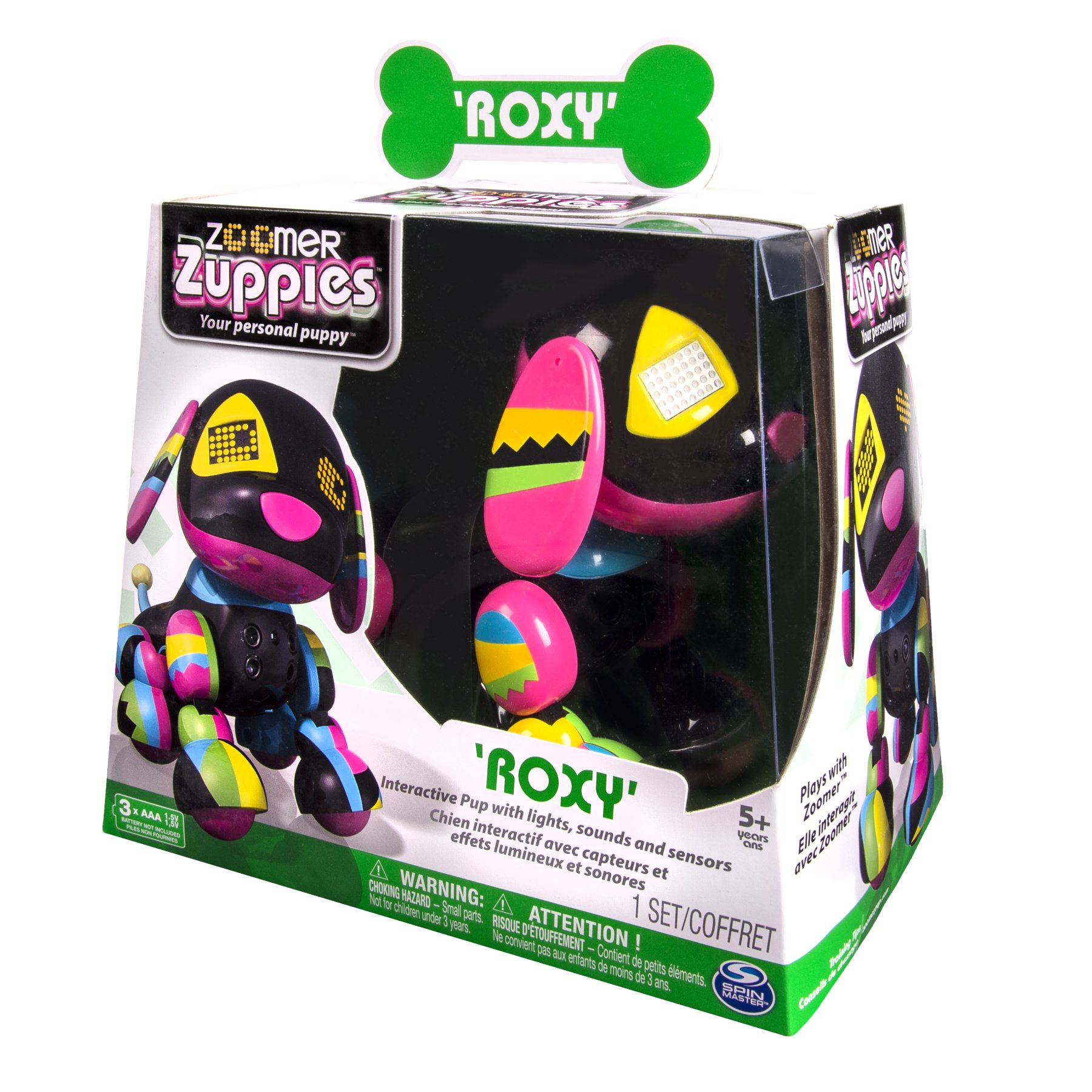 Zoomer Zuppies Interactive Puppy - Roxy by Zoomer (Image #4)