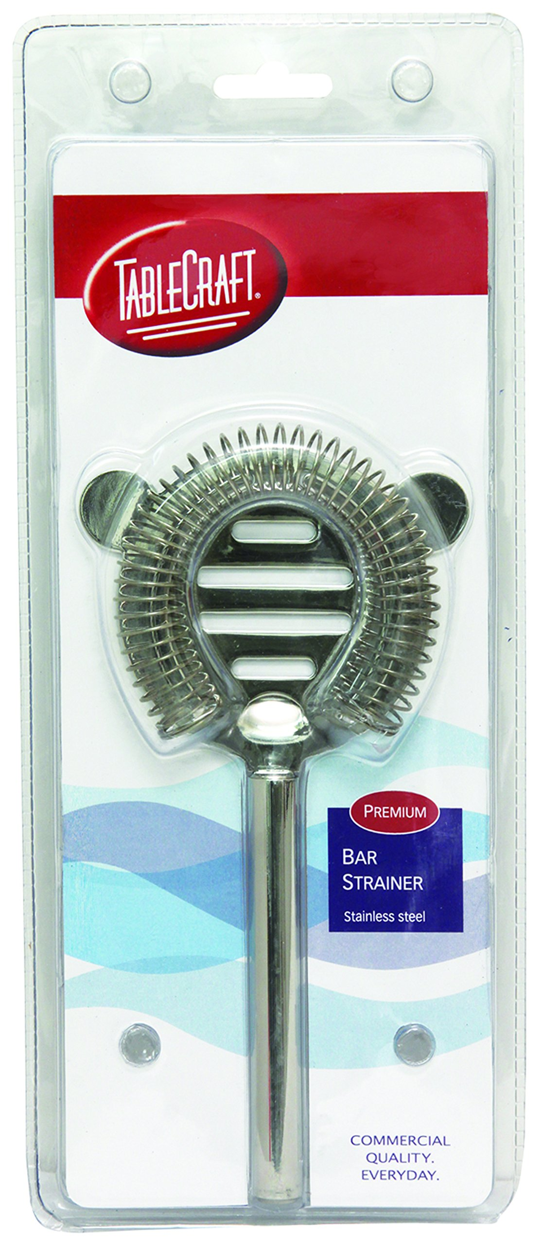 TableCraft Products H211 Bar Strainer, 2 Prong