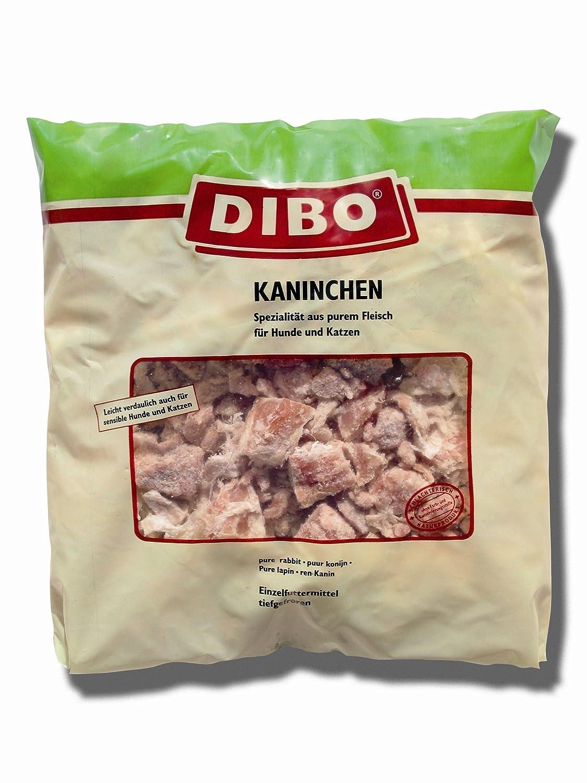Fleisch Kaninchen, 20 x 1.000g-Beutel, Tiefkühlfutter, gesunde, natürliche Ernährung für Hunde, Hundefutter, BARF, B.A.R.F.