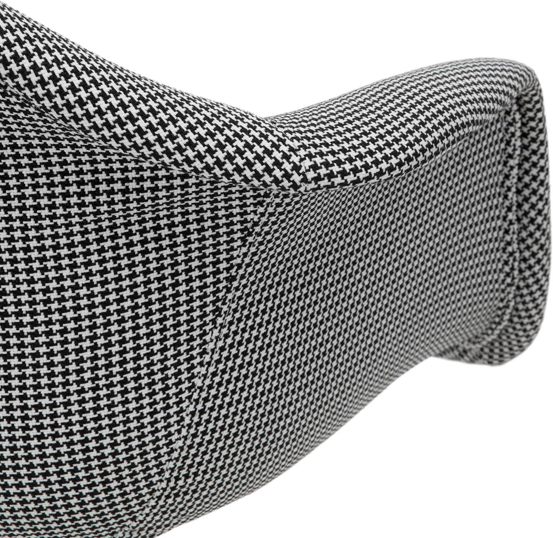 OneConcept Visconti Set de 2 chaises à Coque, Chaises de Designer au Look Seventies, Coque polypropylène, Combinaison de Bois, métal et Plastique,