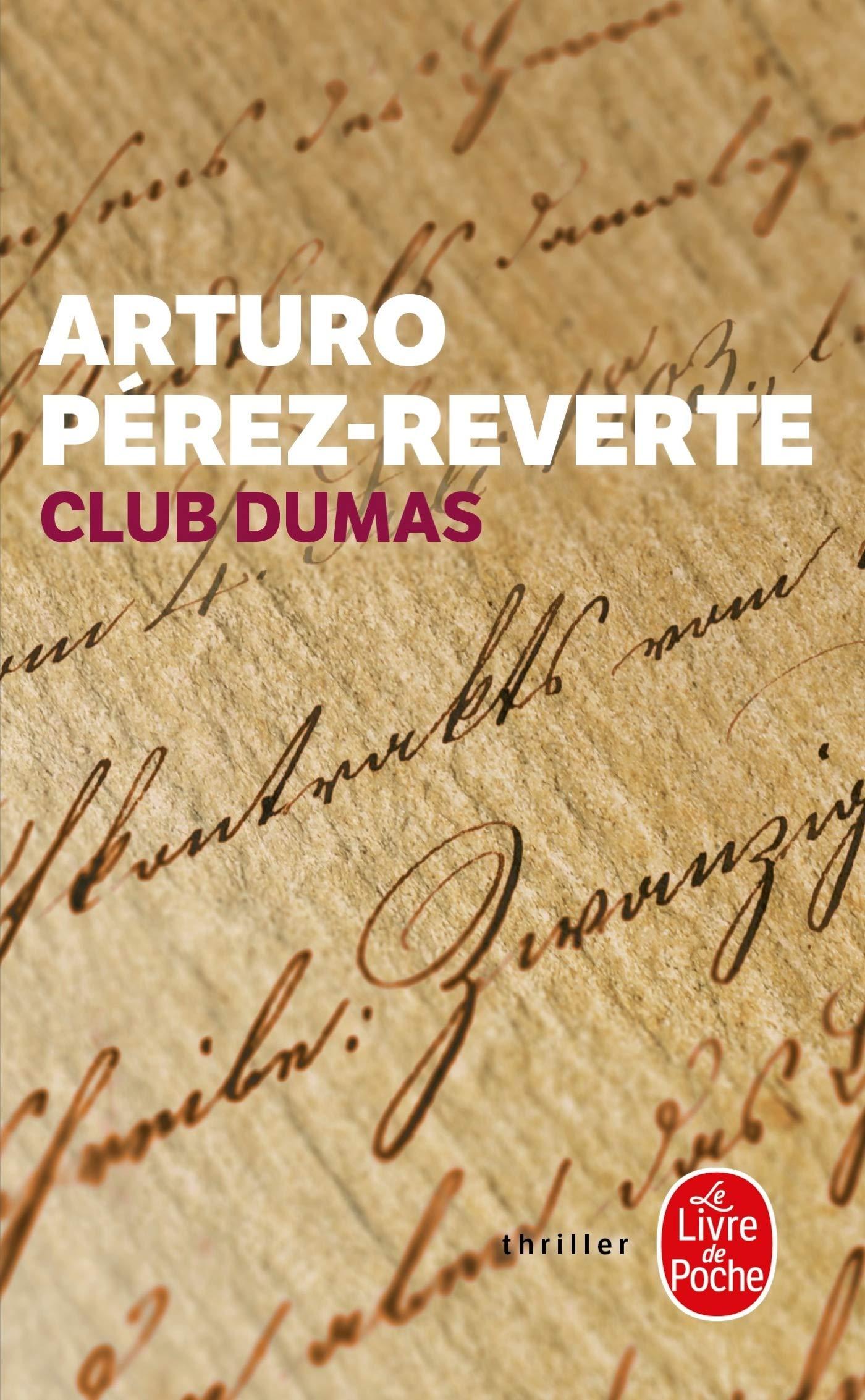 Club Dumas (Thrillers): Amazon.es: Pérez-Reverte, Arturo: Libros ...