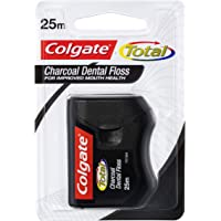 Colgate Total Charcoal Oral Care Dental Floss, 25m