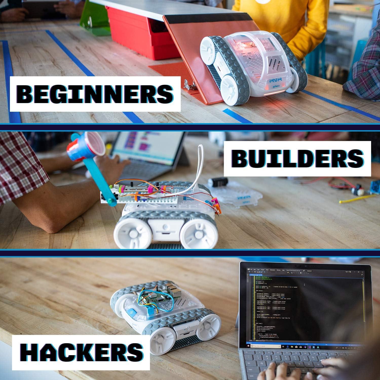 Robot rodador programable