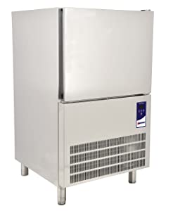 """Omcan 41899 24"""" Stainless Steel 3 Trays 13"""" x 21"""" SS Blast Chiller Freezer Italy"""
