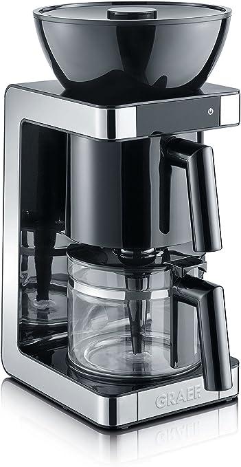 Graef FK 702 Cafetera, 1200 W, 1.25 litros, plástico, Negro: Amazon.es: Hogar
