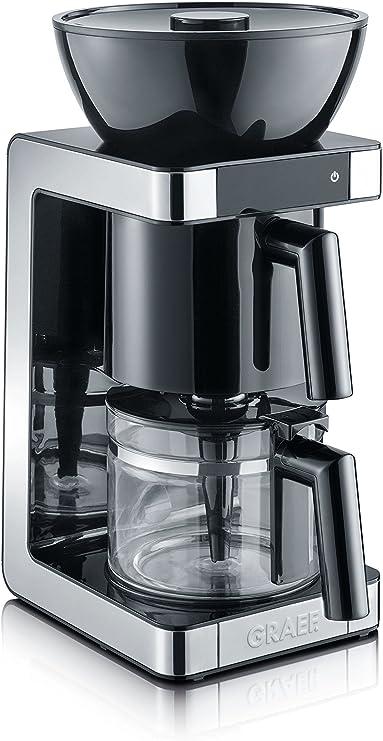 Graef FK 702 Cafetera, 1200 W, 1.25 litros, plástico, Negro ...