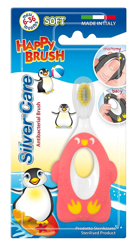 Brosse /à Dents pour B/éb/é Silvercare 6 /à 36 mois Couleur Al/éatoire
