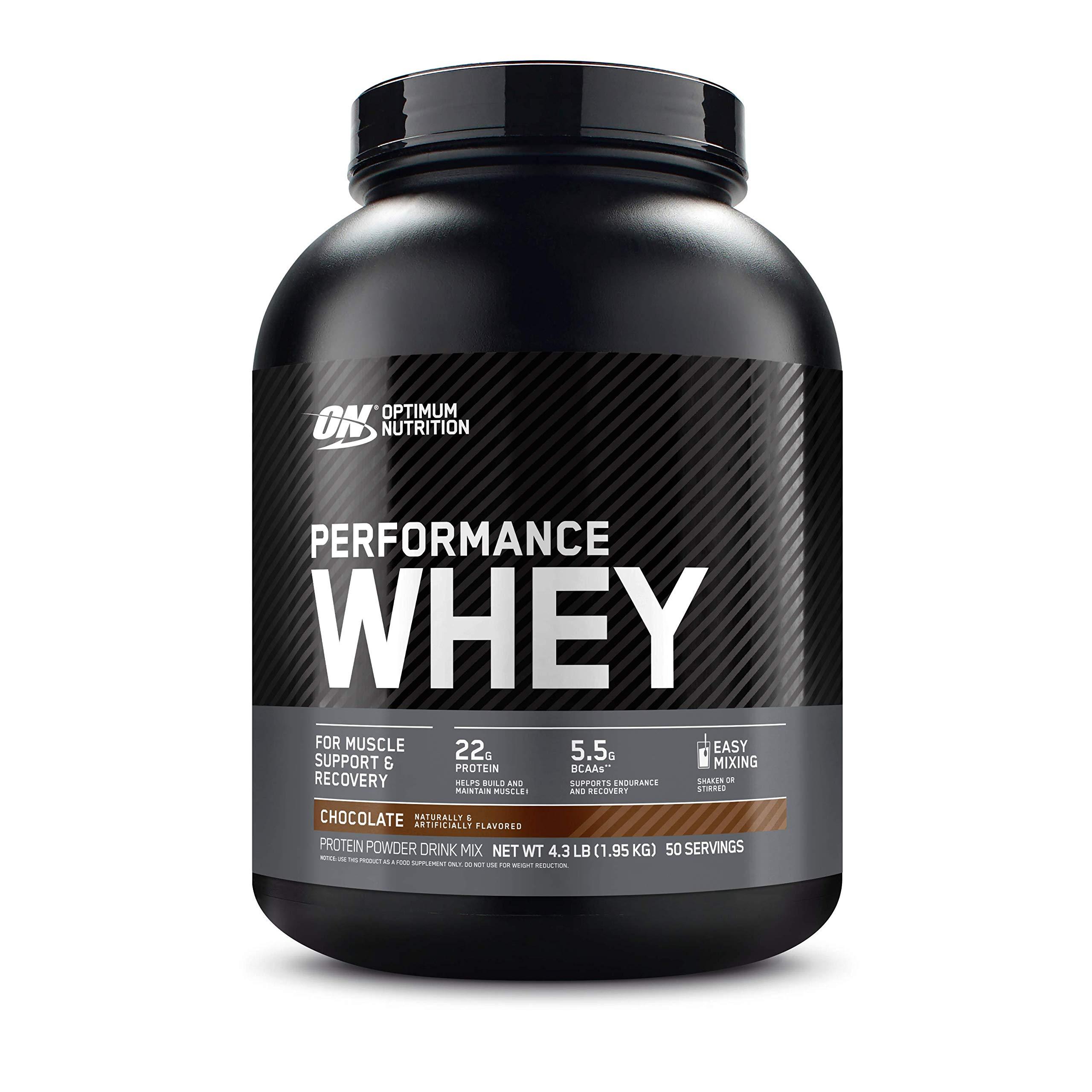 Optimum Nutrition Performance Whey Protein Powder, Whey Protein  Concentrate, Whey Protein Isolate, Hydrolyzed Whey Protein Isolate, Flavor:  Chocolate Shake, 50 Servings- Buy Online in Pakistan at desertcart.pk.  ProductId : 810903.