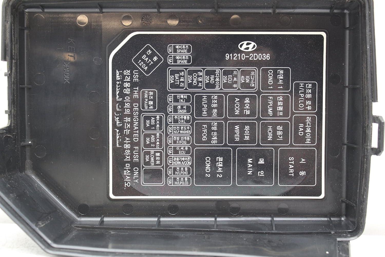 03 08 Hyundai Elantra 91207 2d241 Fusebox Fuse Box Relay Unit Module Everything Else