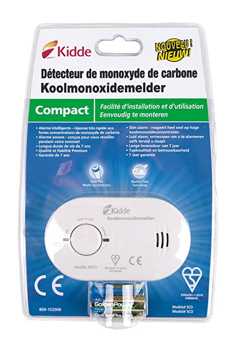 Kidde KID9000233 - Détecteur De Monoxyde De Carbone Écran ...