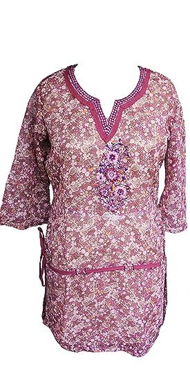 155cc3463b1 Harbinger Designs Women Pink Floral Print Stylish Formal 3/4th Bell ...