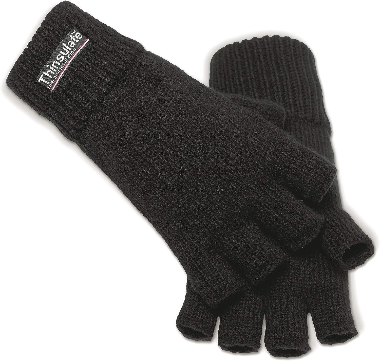 Brandit Knitted Gloves Winter Handschuhe schwarz 3M Thinsulate Strickhandschuhe