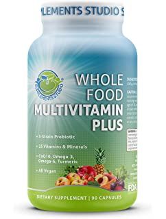 Amazon.com: Whole Food MultiVitamin and Minerals with ...