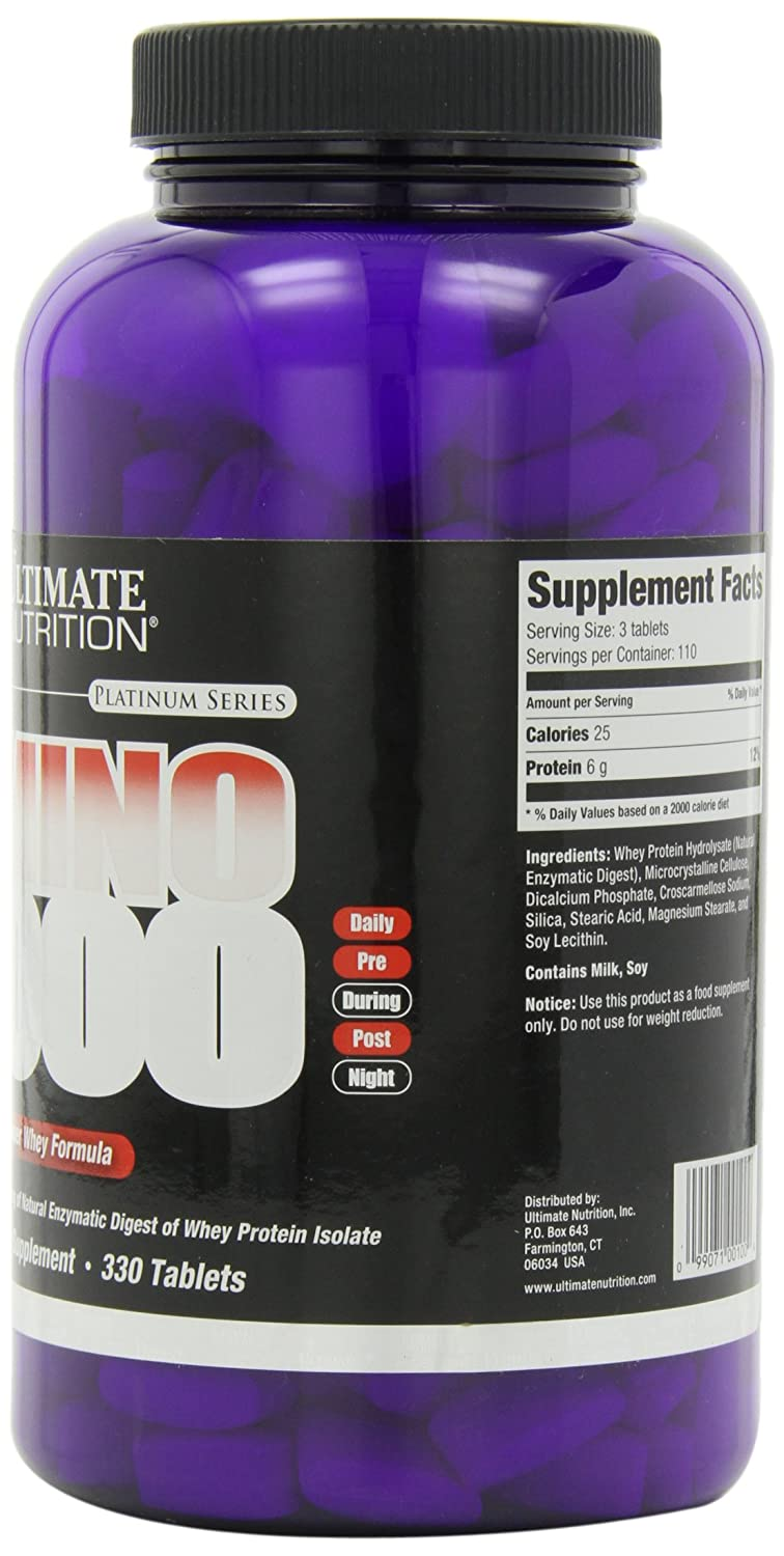 Ultimate Nutrition Amino 2000 150 Tablet Update Daftar Harga Xtreme 330 330tablet Extreme Amazoncom Mg Tablets Health