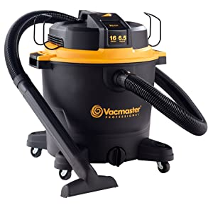 "Vacmaster Professional - Professional Wet/Dry Vac, 16 Gallon, Beast Series, 6.5 HP 2-1/2"" Hose (VJH1612PF0201)"