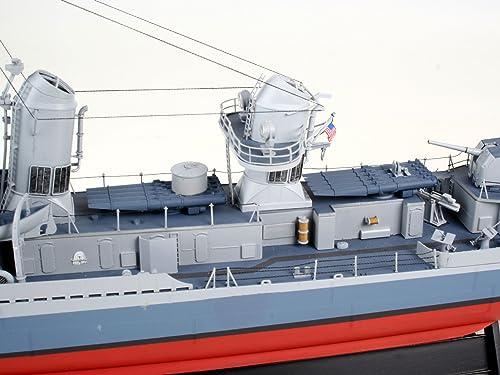 ドイツレベル 1/14 4フレッチャー級 駆逐艦 新金型