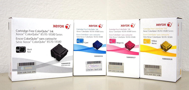 Xerox ColorQube 8570//8580 Cyan Solid Ink Pack 108R00926 2 Sticks