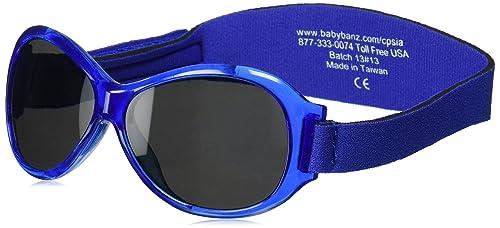 Amazon.com: Baby BANZ Retro BANZ - Gafas de sol ovaladas ...