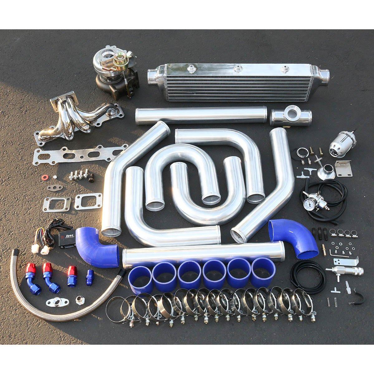 Amazon.com: For Mazda Miata 1.8L High Performance 10pcs T25 Turbo Upgrade Installation Kit: Automotive