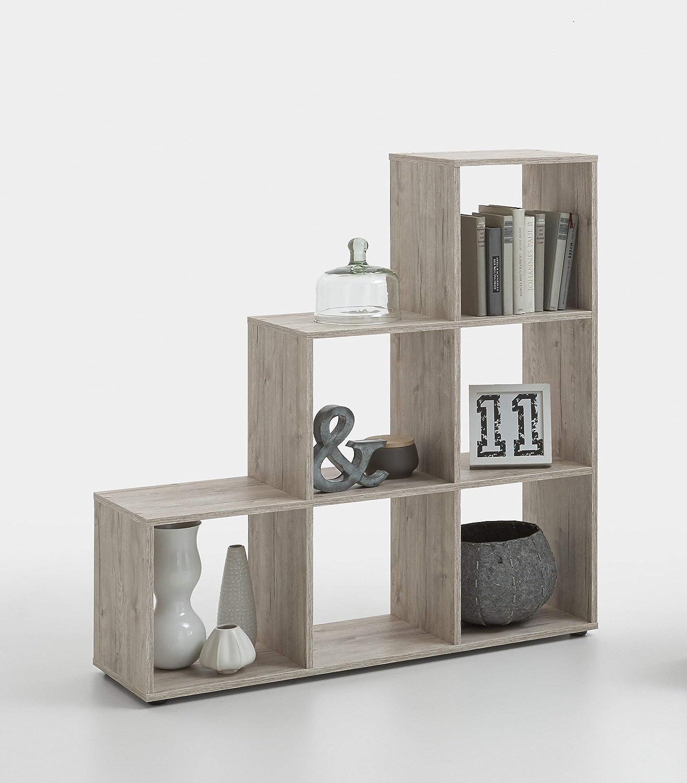 Fashion Home Librería Capri F9 Natural: Amazon.es: Hogar