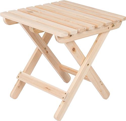 Shine Company Inc 4109N Adirondack Square Folding Side Table