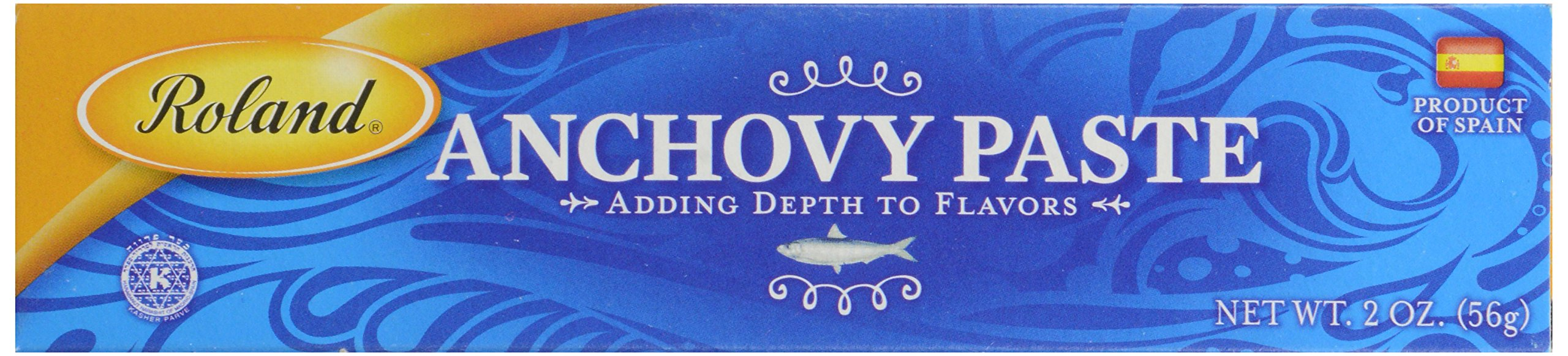 Roland Products Anchovy Paste 2 oz. 5 Anchovy Paste Is Made From The Finest Spanish Anchovies, Ground Into A Fine Paste Reddish Brown Color With A Moderately Pronounced Fish Flavor And A Salty Bite Paste is normally kept under cool temperatures, but it will holdup under heat