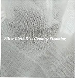 Heavens Tvcz Filter Cloth Rice Rice Net Thai Cooking Fine Cotton Steaming Kitchen Restaurant Tools Stuffed Rice Soft Wrap, Food Crush Grind Pancake Milk Steamed Bun Liners Dry Food Screen Used Also Fo