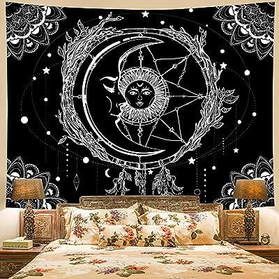 Wall Tapestries Mandala Sun Moon Galaxy Tapestry Wall Hanging Gothic Home Decor