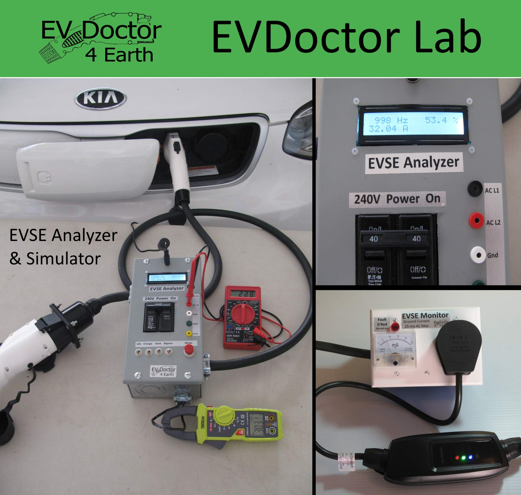 EVSE Repair- Level 1 Level 2 Electric Vehicle Car Charger -  Low Flat Rate, Fast Turn-Around, Low Cost loaner Available, Detailed Test and Safety Report Included. See Return Shipping Cost Below