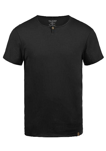 Blend Ireto Camiseta Básica De Manga Corta T-Shirt para Hombre con Cuello Redondo xVG32