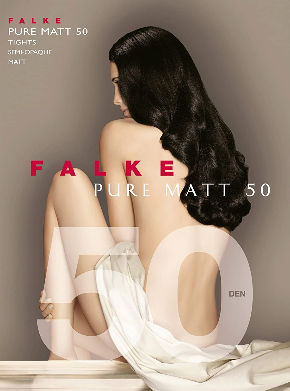 Gr: S // M Falke 40150 Pure Matt 50 Brenda Feinstrumpfhose // Strumpfhose