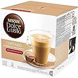 Nescafé Dolce Gusto Espresso Cortado Descafeinado, 16 Cápsulas