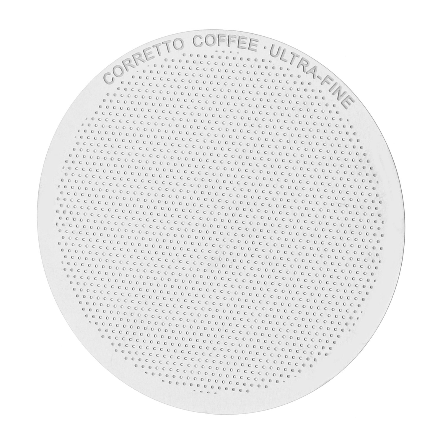 1 FINE Pro Reusable Filter for use in AeroPress Coffee Maker, Premium Stainless Steel, Brewing Guide Included & 100% Satisfaction Guarantee Corretto APFILTERFINE