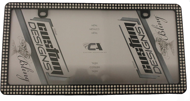 Custom Frames 92856 Chrome Hot Rodder License Plate Frame