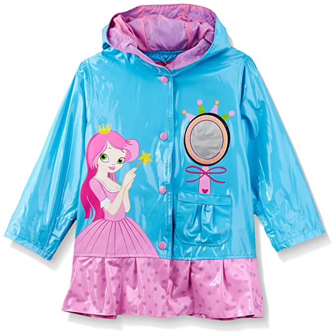 Amazon.com: Wippette Princesa de las niñas Raincoat: Clothing