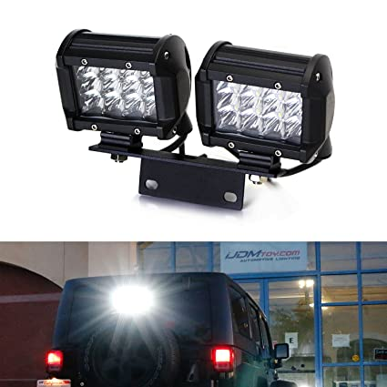 amazon com ijdmtoy 72w above 3rd brake dual led rear lighting kit w rh amazon com
