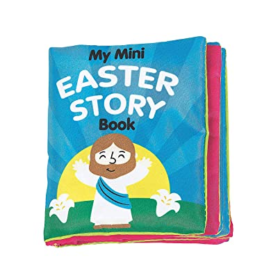 Fun Express The Easter Story Fabric Book - 1 Piece - Educational and Learning Activities for Kids: Toys & Games