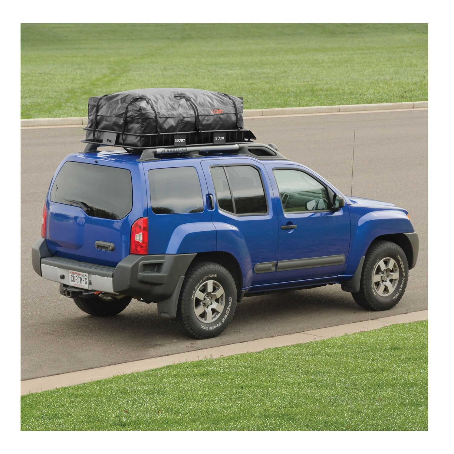 CURT 18221 Extended Roof Rack Cargo Bag by Curt Manufacturing (Image #8)